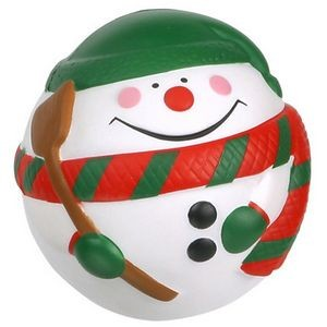Snowman Ball Stress Reliever